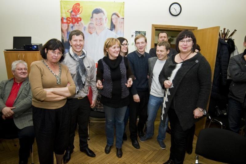 Kauno socialdemokratai – kol kas santūrūs, tačiau neslepia džiaugsmo