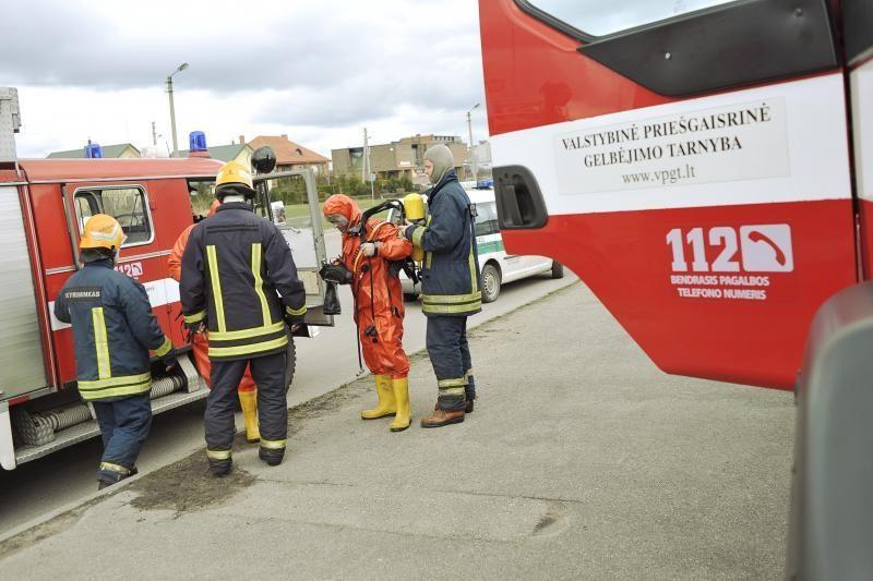 Dėl cheminių medžiagų pavojaus buvo evakuota Šilainių seniūnija