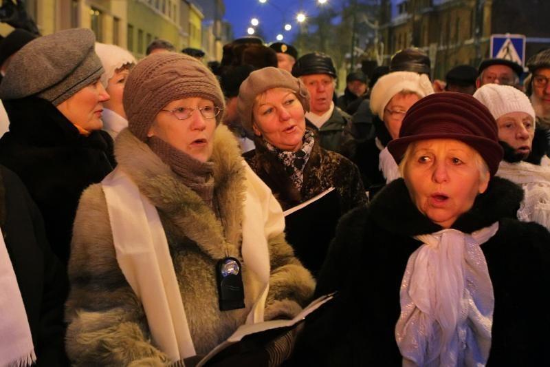 Klaipėdiečiai mini  Laisvės gynėjų dieną