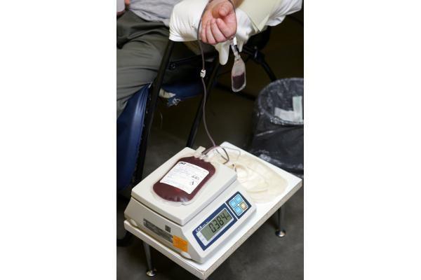 Rotušės aikštėje - kraujo donorų akcija