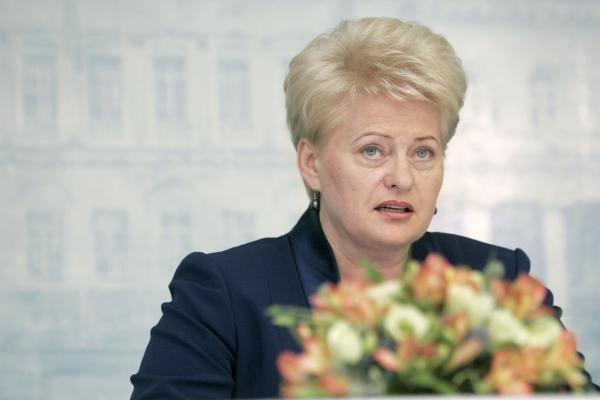 Po FNTT skandalo D.Grybauskaitės reitingas smuko beveik 10 proc.