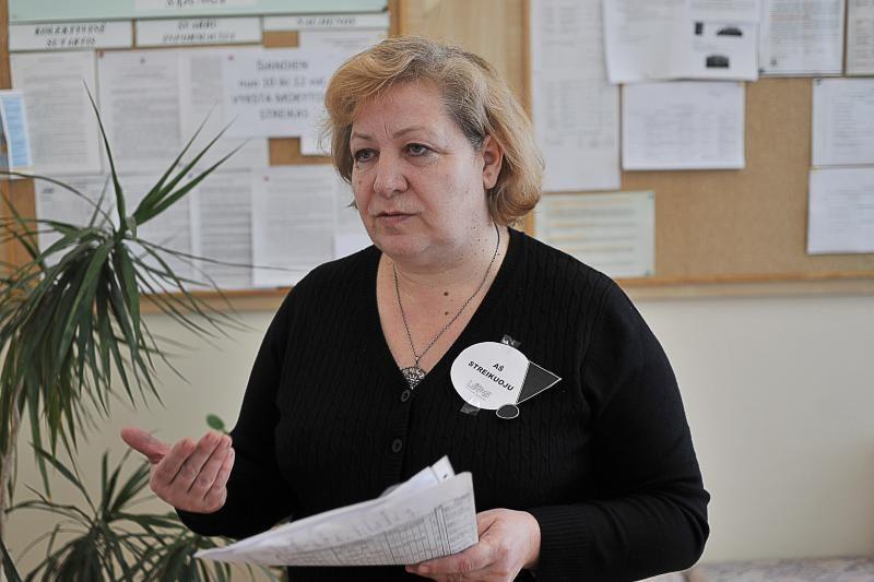 Pabūgę spaudimo, streikavo ne visi maištauti nusiteikę Kauno mokytojai