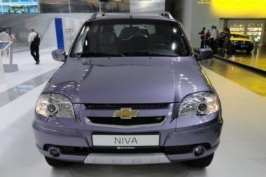 """GM-AvtoVAZ"" pagamino specialią ""Chevrolet Niva"""