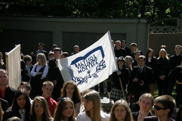 Abiturientams linkėta nepamiršti Klaipėdos