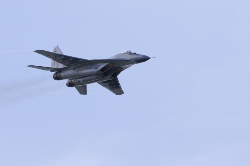 Naikintuvai lydėjo Rusijos bombonešius, skridusius virš Baltijos jūros