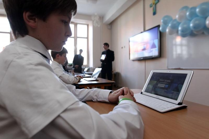 Moksleiviai skubės į pirmą išmaniąją klasę