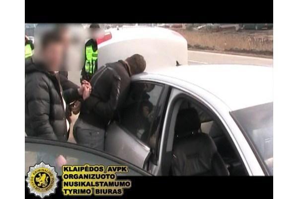 Klaipėdoje sulaikyti heroino prekeiviai