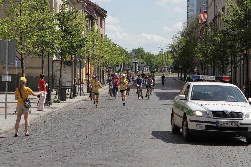 Klaipėdoje startavo jubiliejinis ''Vilties bėgimas