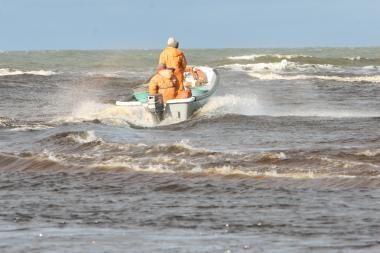 Įspėtas į jūrą be leidimo išplaukęs žvejys