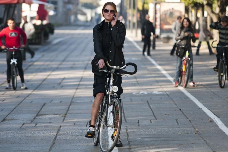 Klaipėdos pavyzdinio dviračių tako projektas tarp geriausiųjų nepateko