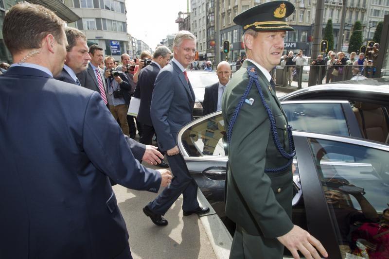 """Būsimasis Belgijos karalius """"gerai suvokia"""" savo pareigas"""