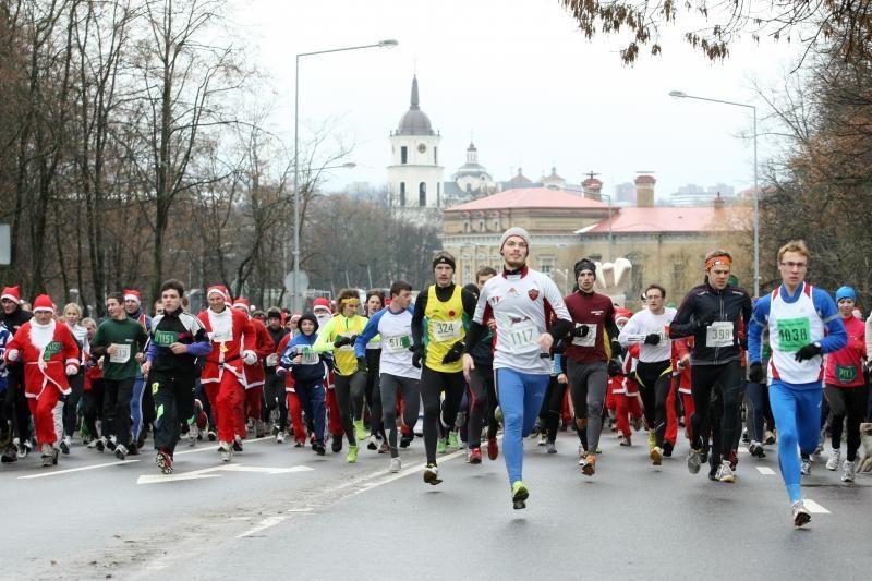 Prasidėjo Vilniaus Kalėdinio bėgimo dalyvių registracija