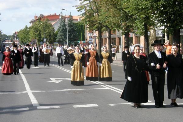 """Per Klaipėdą žygiavo """"Europiados"""" paradas"""