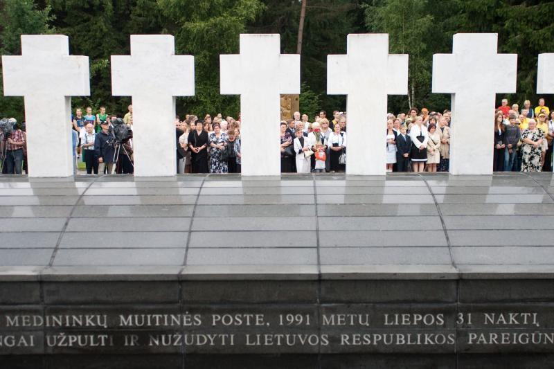 Lietuvoje minimos 21-osios Medininkų žudynių metinės