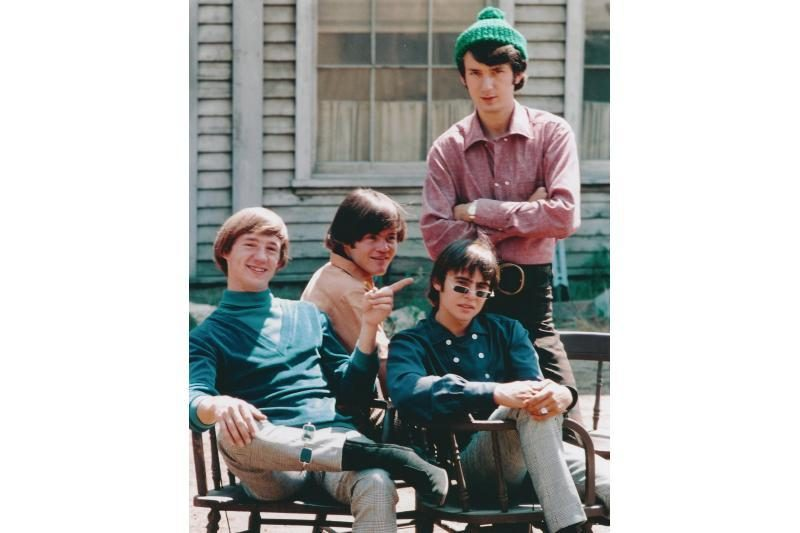 "Mirė grupės ""The Monkees"" lyderis Davy Jonesas"