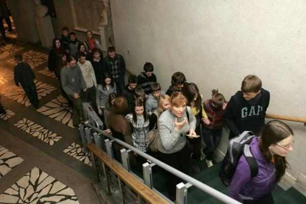 Vilniaus Radvilų rūmuose – lankytojų antplūdis