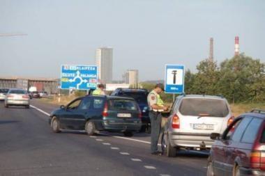 Savaitgalį Lietuvos keliuose - policijos reidai
