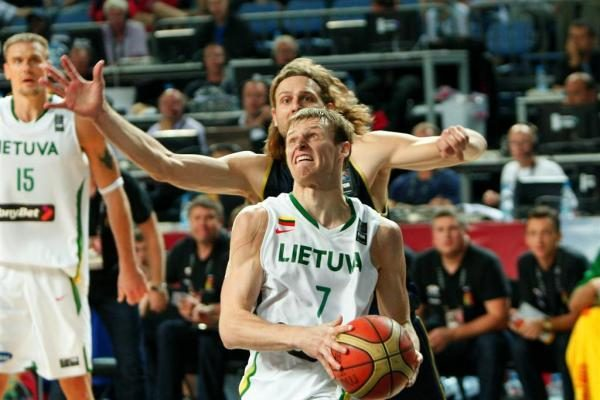 L.Kleiza: mes esame komanda