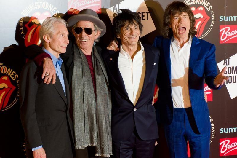 """Rolling Stones"" po 50 metų debiutavo Glastonberio festivalyje"