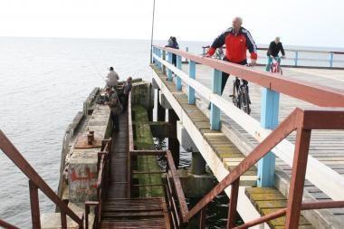 Verslininkai nesidomi Palangos tilto prieplauka