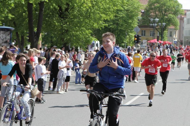 """""""Vilties bėgimo"""" organizatoriai kviečia palaikyti ir morališkai"""