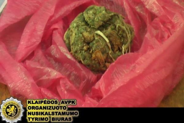 Klaipėdoje sulaikyti nepilnamečiai narkotikų platintojai