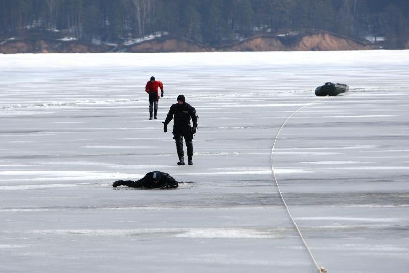 Narai Kauno mariose rado vakar nuskendusio žvejo kūną