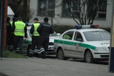 Vilniuje sučiuptas marijampolietis, įtariamas degalinių plėšimais