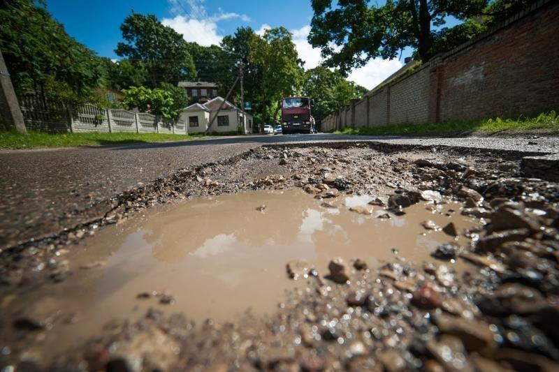 Ar ilgai tvers po lietaus užlopytos gatvės?