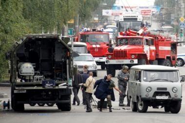 Pietų Rusijoje rastas automobilis, kuriame prie lavono pritvirtina savadarbė bomba