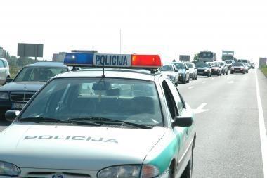 Avarijoje autostradoje žuvo kazachstanietis