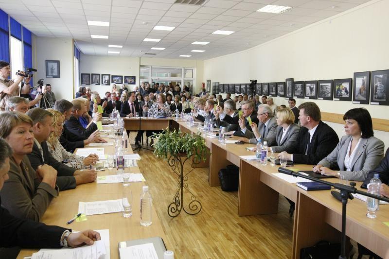 S.Karbauskas – jau nebe Klaipėdos rajono meras