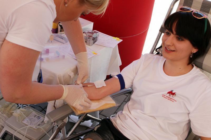 """""""Vilties bėgimo"""" dieną – kraujo donorystės akcija"""