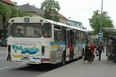 Vasarą nevažinės 7 maršruto autobusai