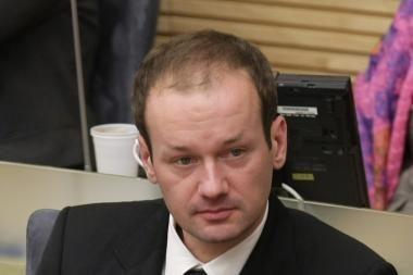 Parlamentaro R.Žilinsko byla pasiekė Aukščiausiąjį Teismą