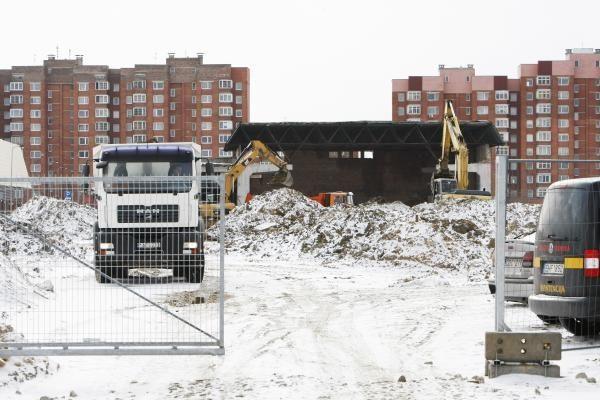 Klaipėdos arenos statybininkai bijo viešumo