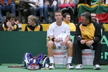 R.Berankis iškrito iš Vimbldono teniso turnyro