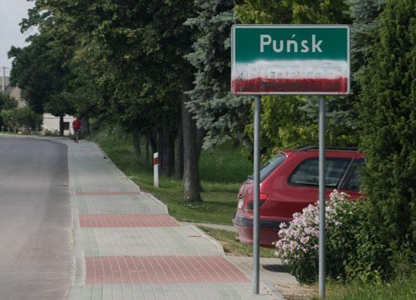 Lenkijoje išniekinti lietuviški užrašai (foto)