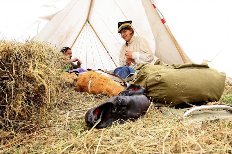 Prancūzų ir rusų armijos jau kursto karo ugnį