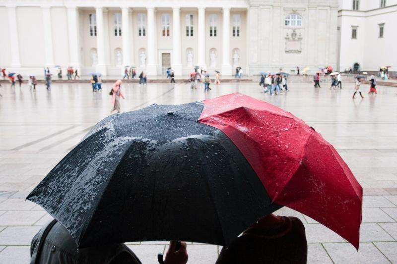 Savaitgalį   Lietuvą   merks   lietus