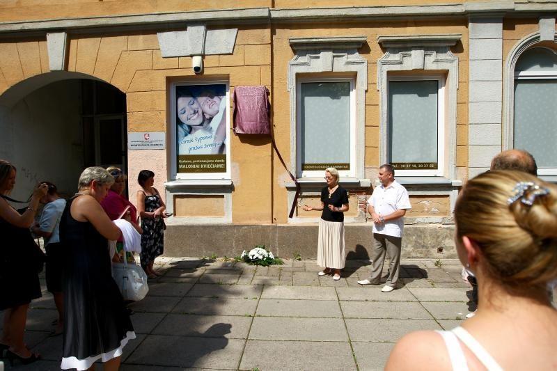 Kaunas atidavė duoklę anglų filantropei
