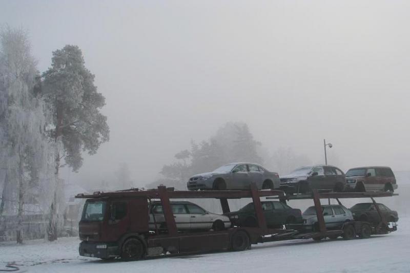 """Iš Lietuvos į Rusiją gabentas Italijoje pavogto """"BMW"""" kėbulas"""