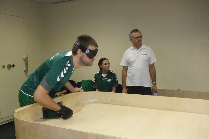 Lietuvos aklųjų stalo teniso rinktinė - tarptautinio turnyro čempionė