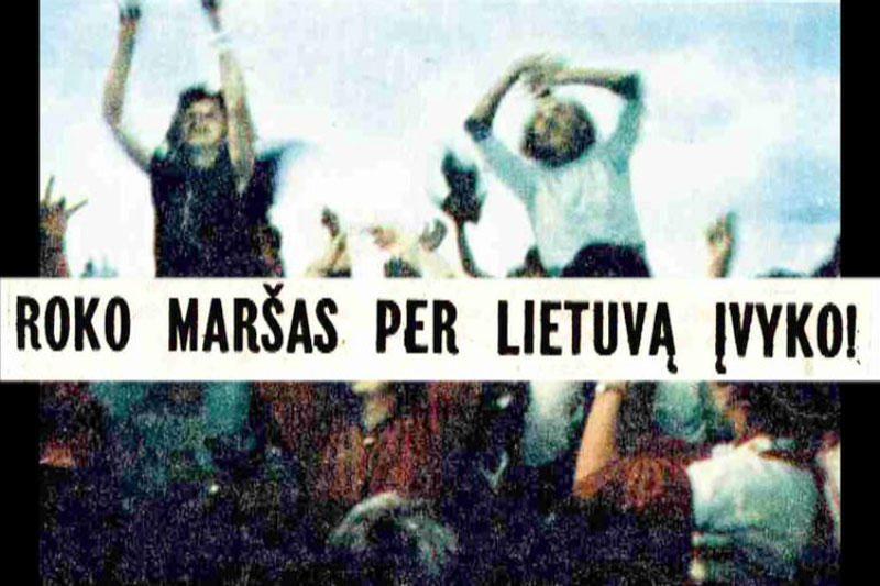 Vilniuje – legendinius Roko maršus priminsiantis koncertas