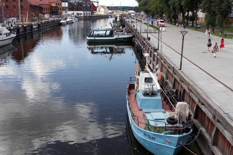 Klaipėdos meras susirūpino Danės krantinių saugumu