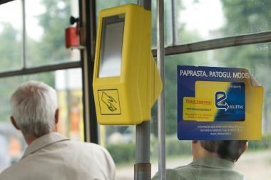Elektroninis bilietas Klaipėdoje pradės veikti lapkritį