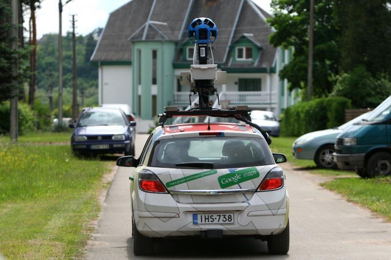 """Elektroninės """"Google"""" akys savaitgalį pasiekė Kauną"""