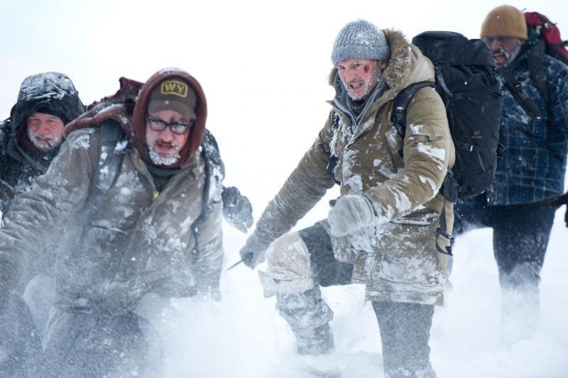"""Ledinė pūga – pagrindinis filmo """"Sniegynų įkaitai"""" herojus"""