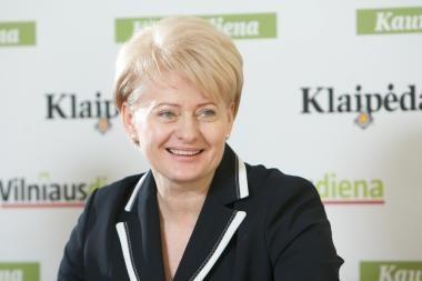 Už D.Grybauskaitę balsuotų 69 procentai apklaustųjų
