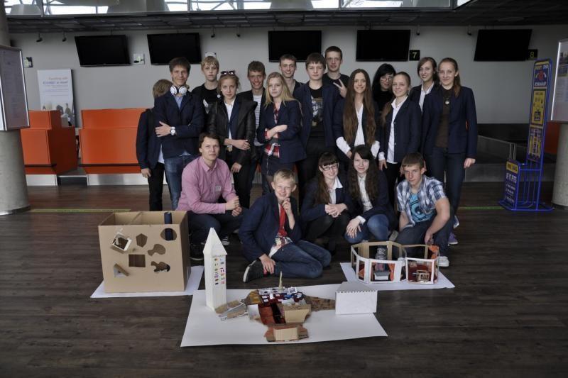 Kauno moksleiviai norėtų oro uostą paversti pramogų sostine